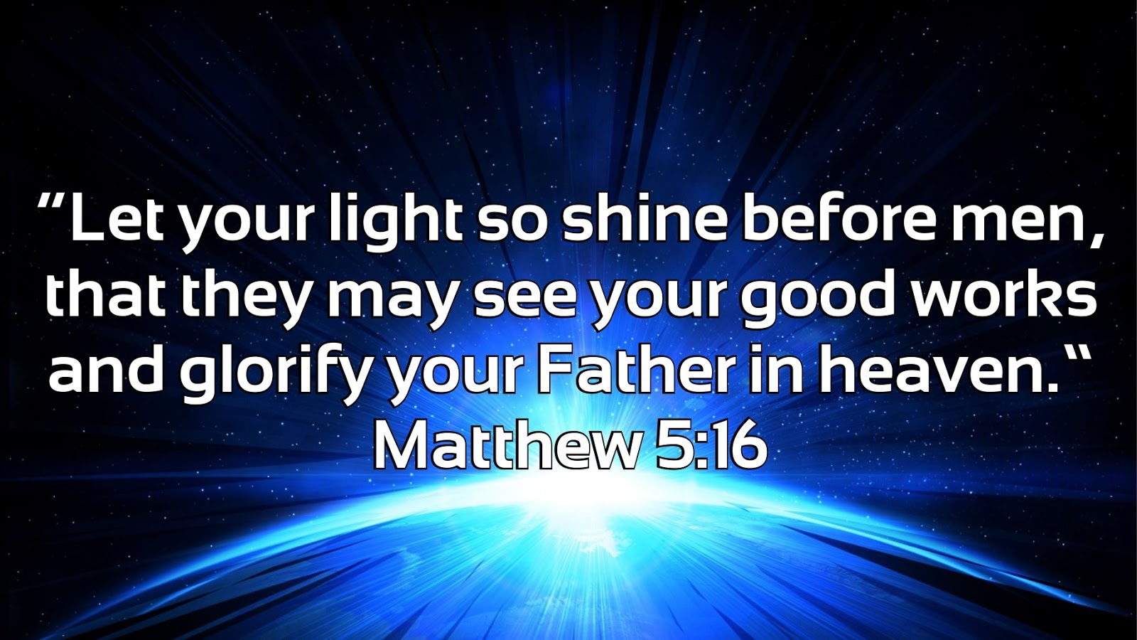 Image result for matthew 5:16