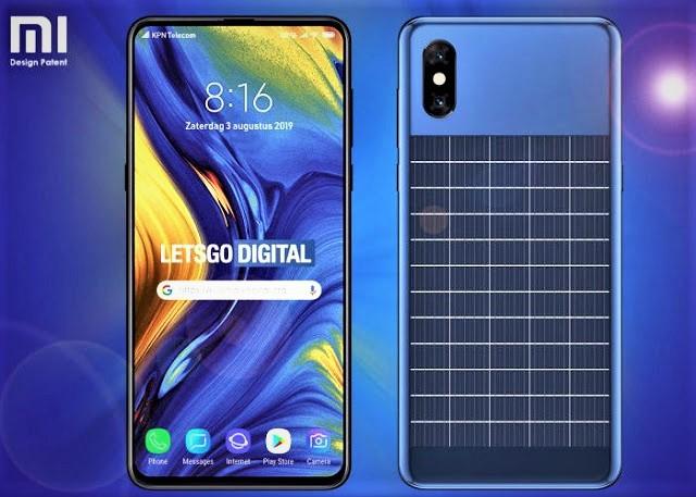 شاومي تقدم هاتف جديد يشحن نفسه بنفسه بالطاقة الشمسية