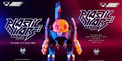 The Plastic Wars Vol 00: Mechaverita Vinyl Figure by The Beast Brothers x Devil Toys x Ghetto Plastic