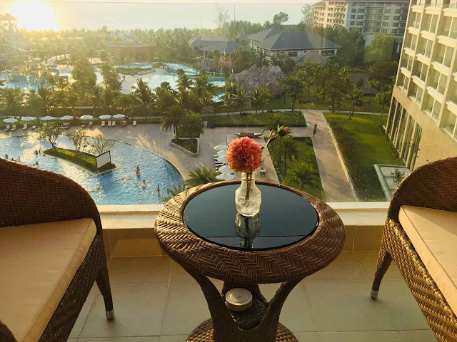 view nhìn từ condotel oasis