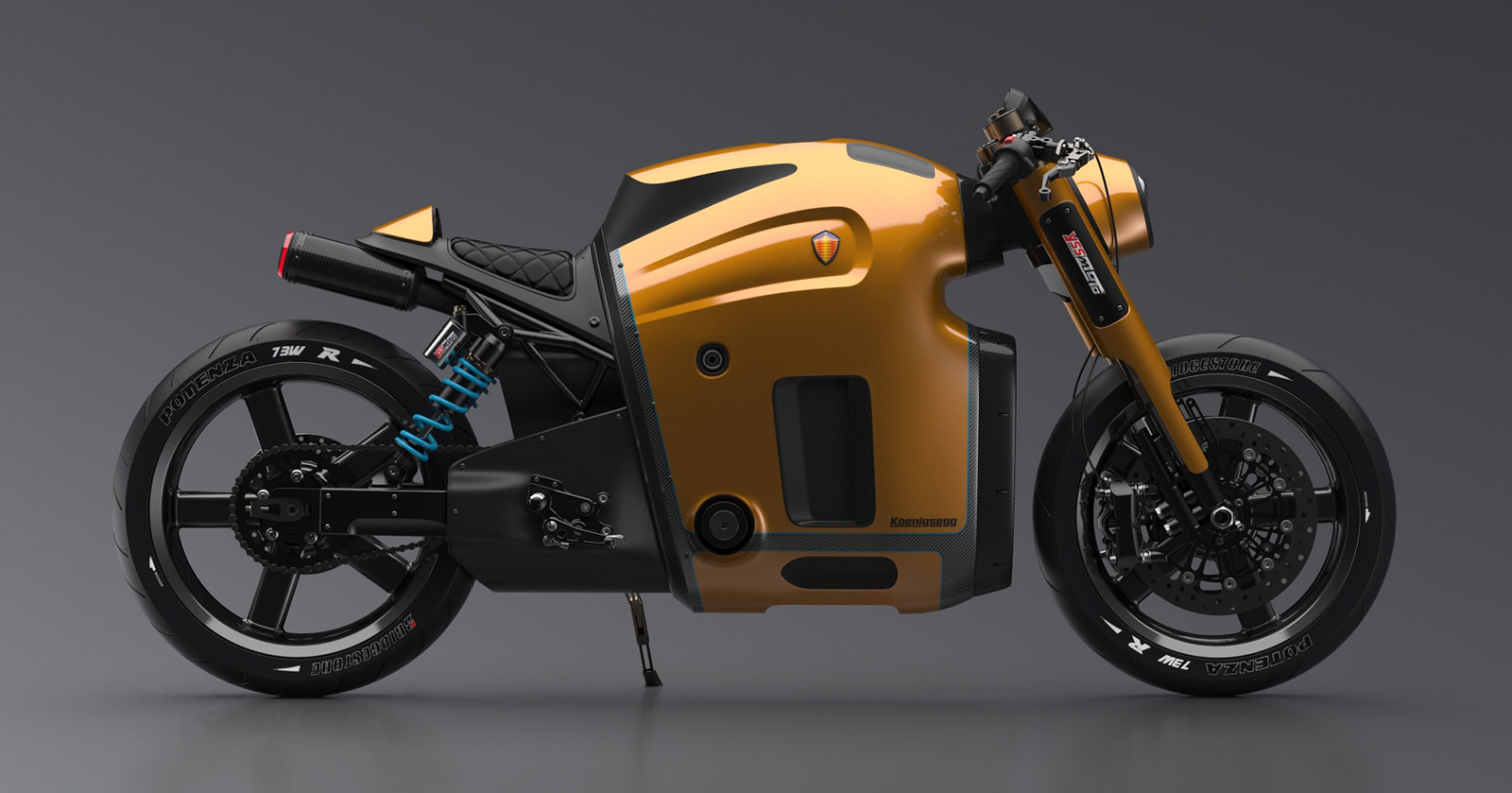 If Koenigsegg Made A Motorcycle It Might Look Something