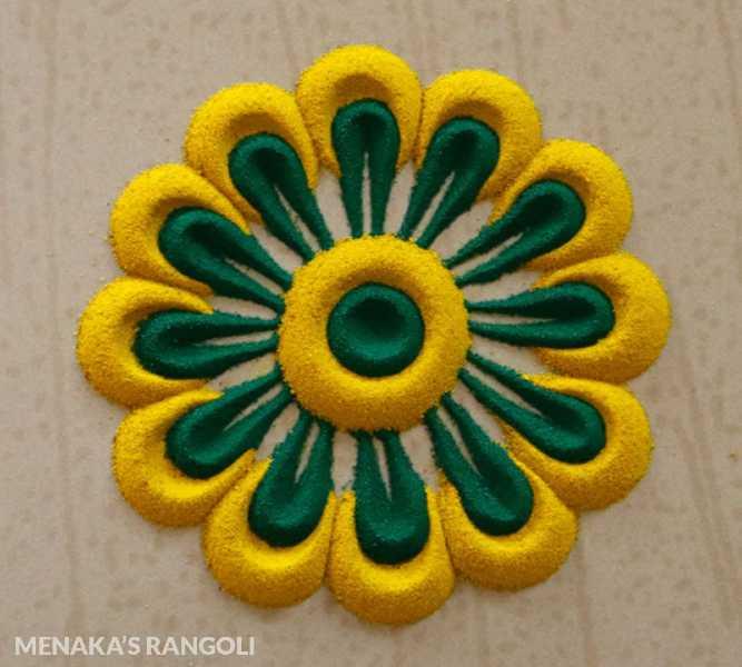 small and simple rangoli designs