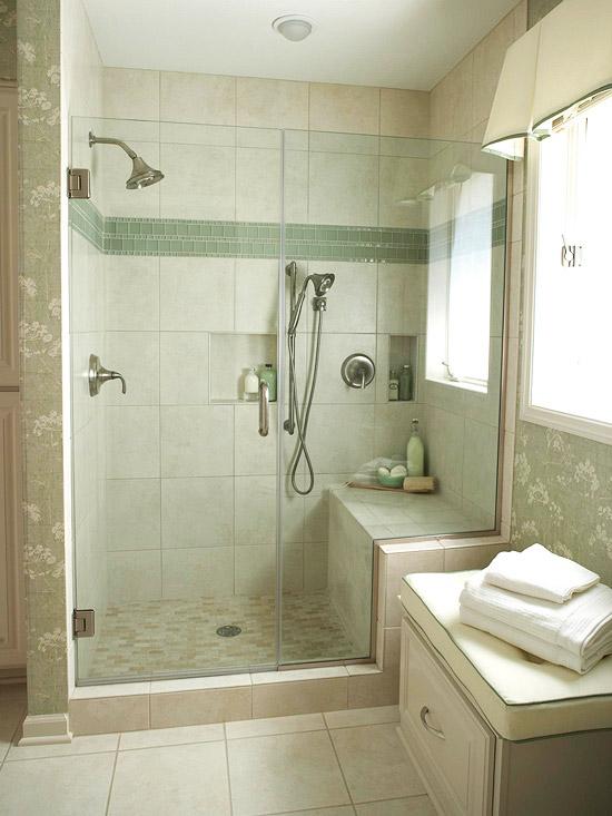 New Home Interior Design: Walk-In Shower Ideas