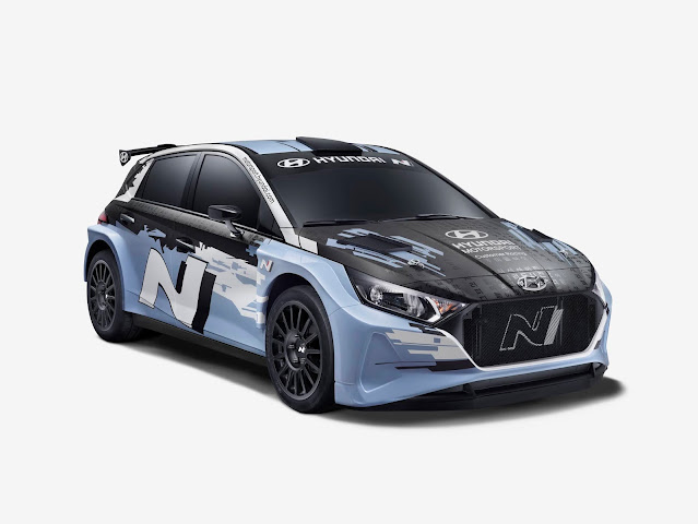 Hyundai R5 Rally car for sale