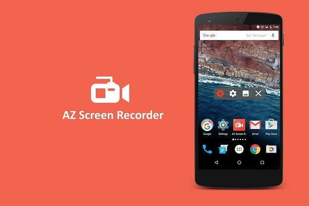 az recorder best screen recording app livestream