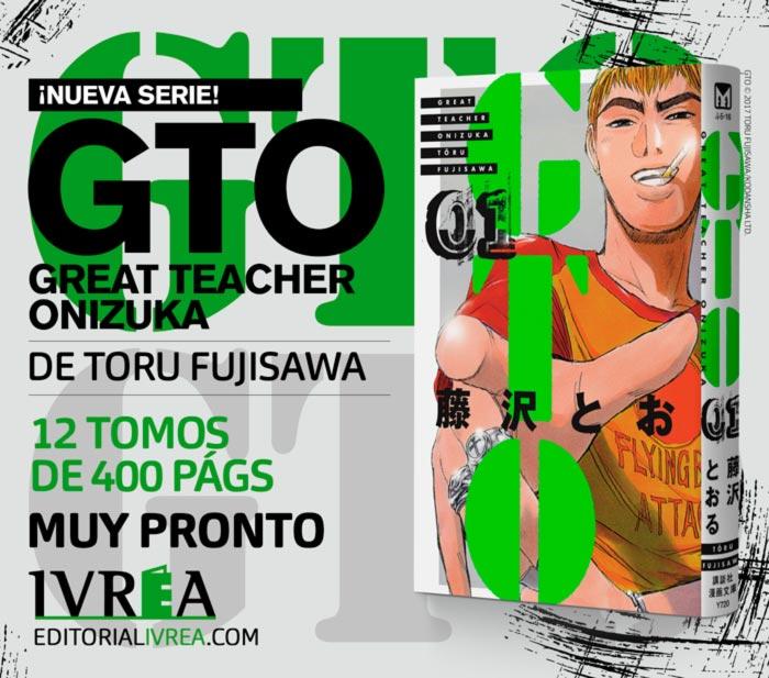 GTO: Great Teacher Onizuka manga - Toru Fujisawa - Ivrea