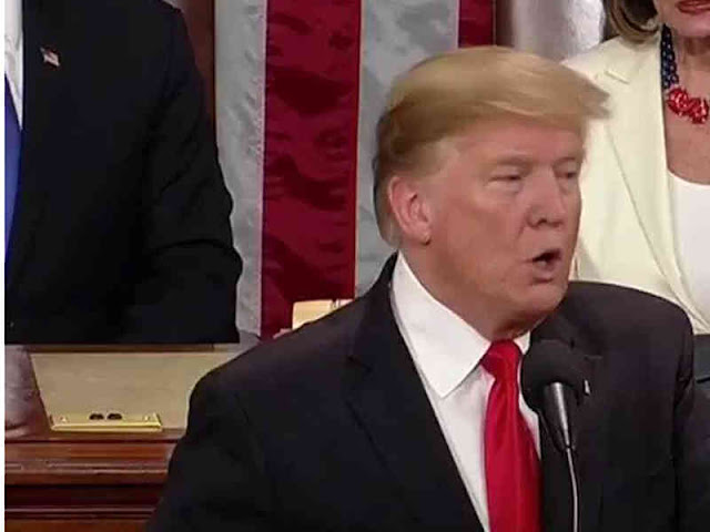 Donald Trump Pidato Tentang Konflik, Perdagangan dan Kebijakan Luar Negeri