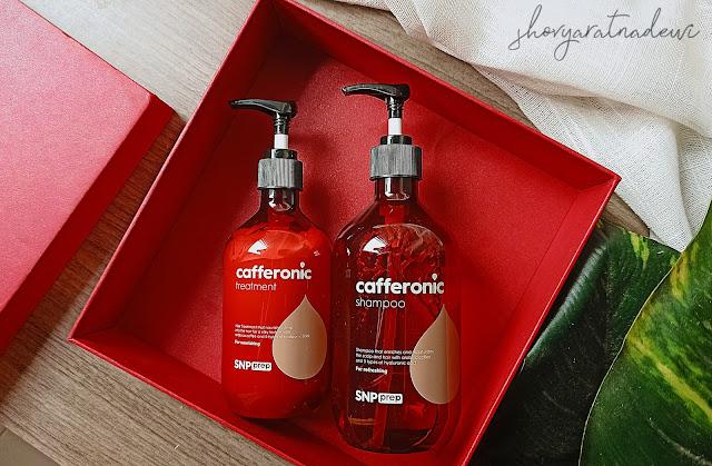 SNP Prep Cafferonic Shampoo & Treatment