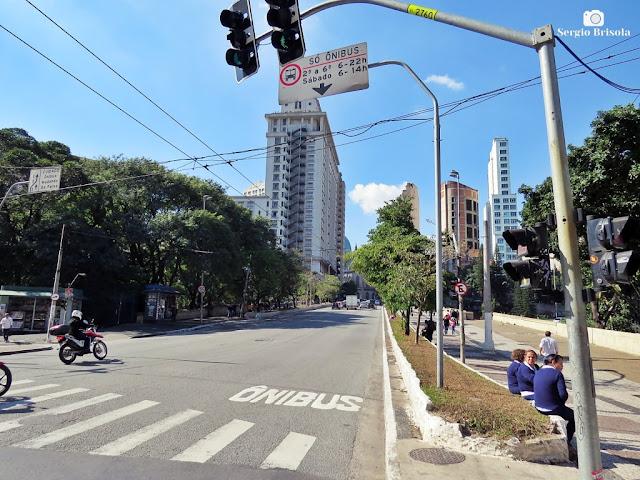 Vista ampla do Viaduto Dona Paulina - Bela Vista - São Paulo