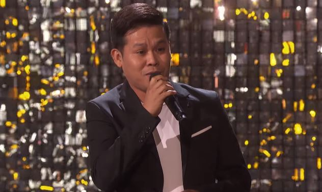 Marcelito Pomoy is grand finalist of America's Grand Talent: The Champions!