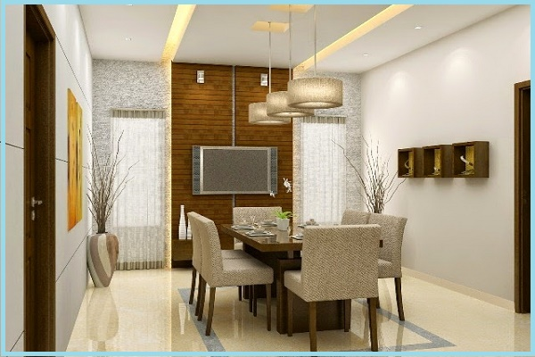 two colors for dining room