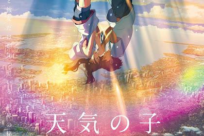 Film Weathering With You Terjual Lebih Dari 10 Juta Tiket di Jepang