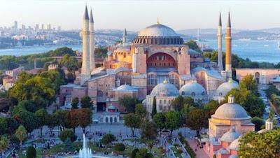 Islam vuelve por la Basílica de Santa Sofia