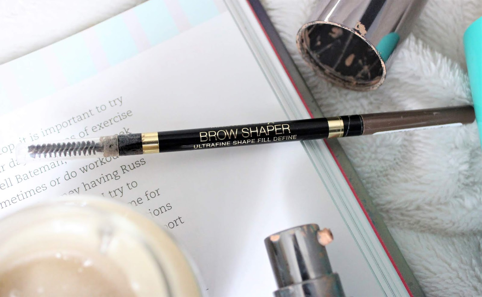 max factor brow shaper review