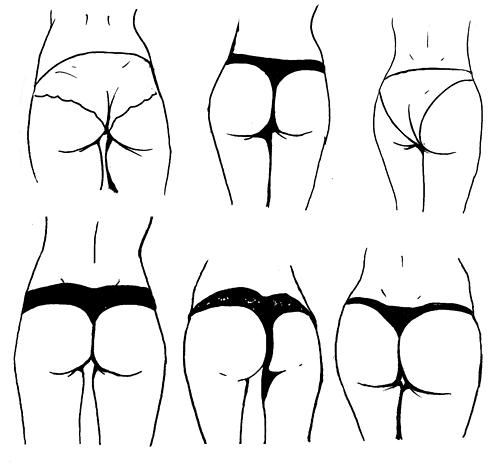 I Wear Thong Underwear