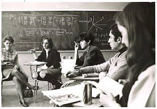 Discussion group in Dartmouth classroom