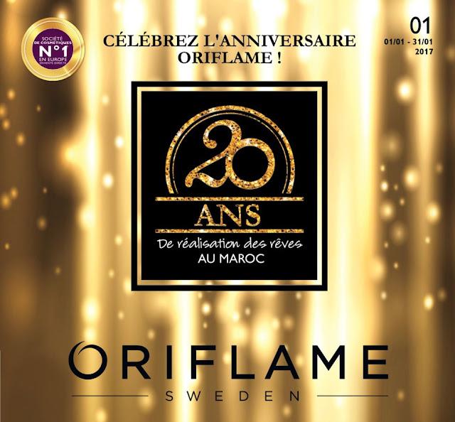 catalogue oriflame janvier 2017
