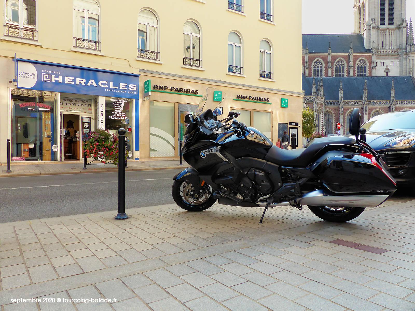 Moto BMW K1600, Tourcoing 2020