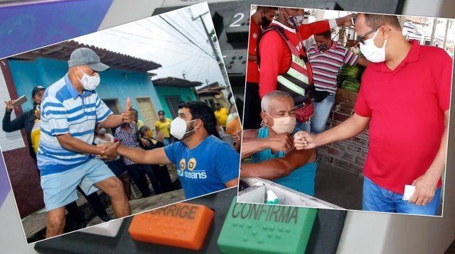 Chuvas quebra ritmo de campanha e esfria polarização entre gabirabas e petistas