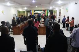 Fraksi-Fraksi DPRD Setujui Raperda APBD tahun 2021 Kabupaten Waropen