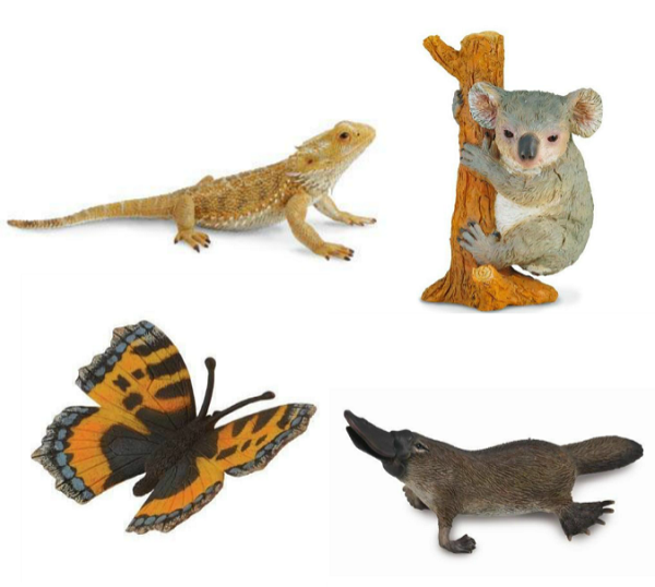 collecta Australian animal figurines