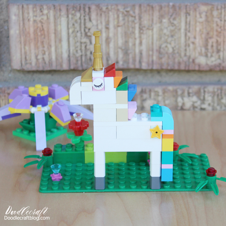 How to Build: Lego Unicorn Instructions--10 ways!