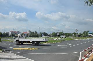Trung tâm dạy nghề đào tạo và sát hạch lái xe trường Cao Đẳng Cảnh Sát Nhân Dân II