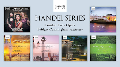 Handel series - London Early Opera - Signum Classics
