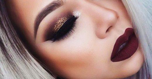 maquillaje cargado