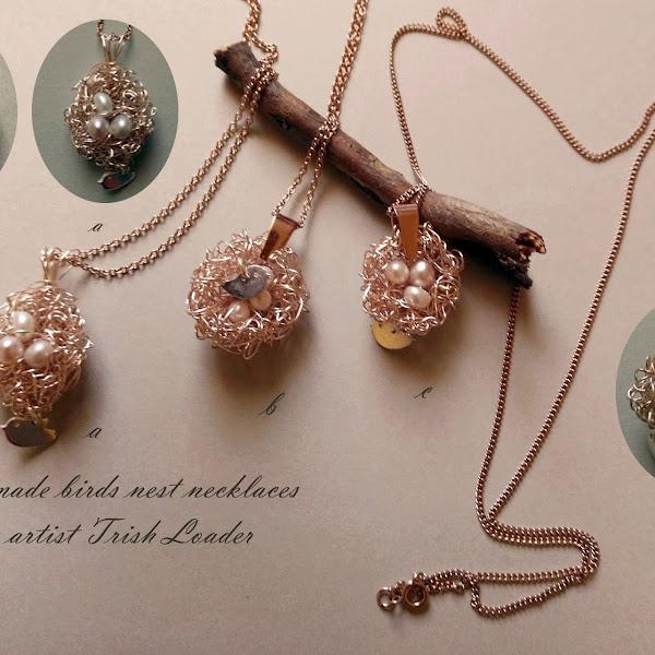 Birds Nest Jewelry Rose Gold