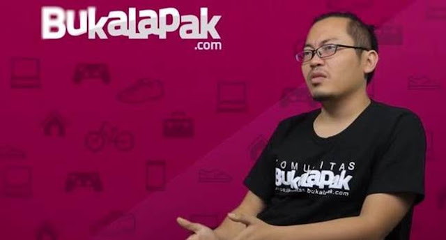 Cerita Sukses Pendiri e-Commerce Bukalapak - Achmad Zaky