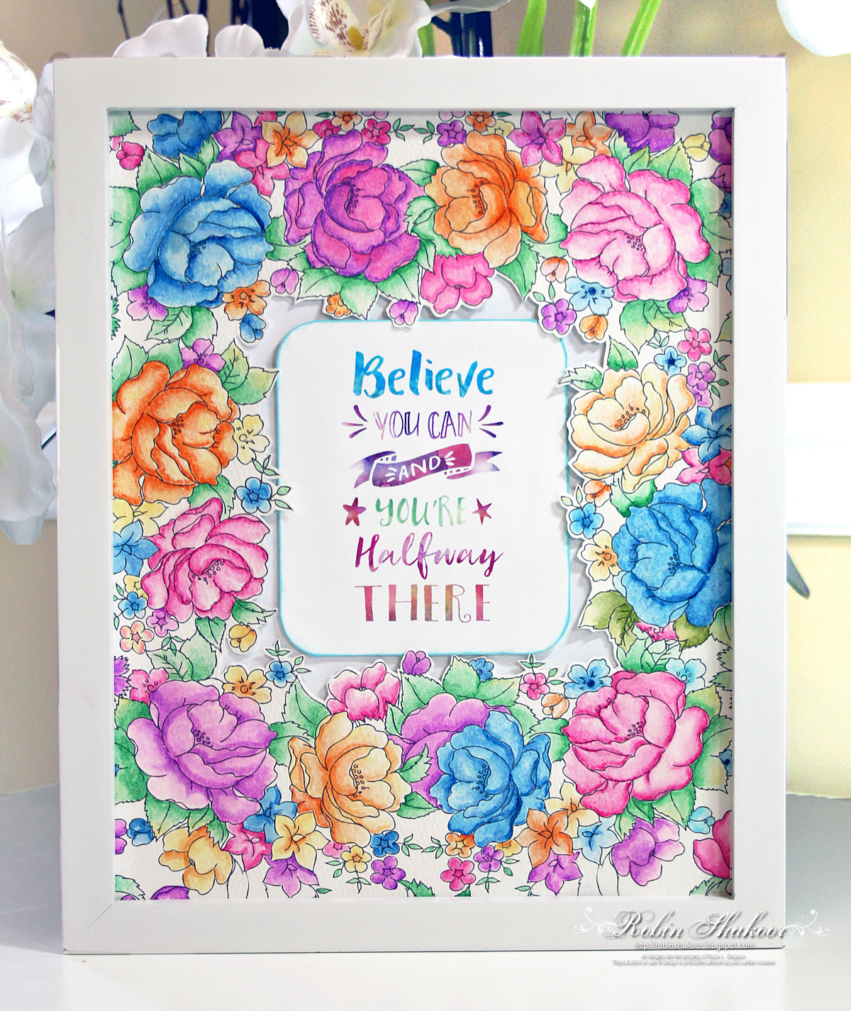 Designs by Robin: Prima\'s 30 Day Watercolor Challenge - Coloring ...