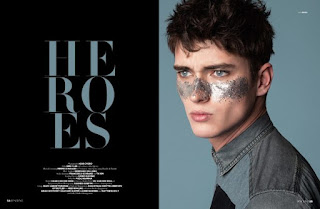 Top Models in Heroes by Igor Cvoro for D'SCENE Magazine