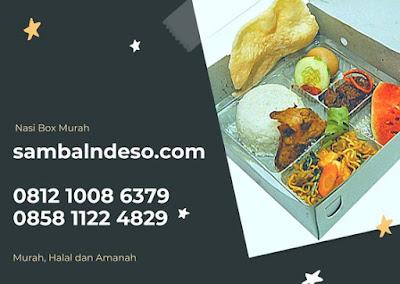 menu nasi kotak daerah Bintaro Tangerang Selatan