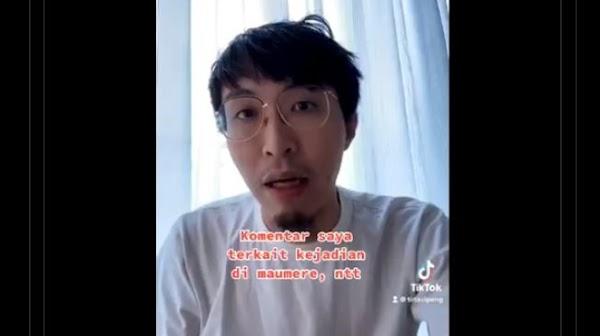 Sebut Kerumunan Massa Jokowi Tak Relevan Disanksi, dr Tirta Tuai Sindiran
