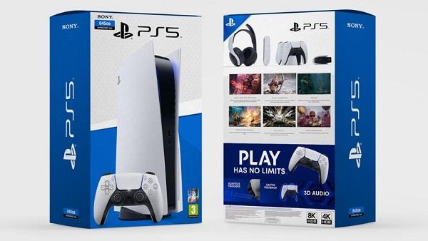 هذه محتويات صندوق جهاز PS5 عند شرائه و مفاجأة رائعة