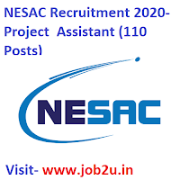 NESAC Recruitment,Project  Assistant