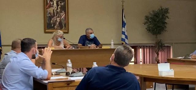 Συνεδρίασε διά ζώσης κεκλεισμένων των θυρών, την Τετάρτη 26 Αυγούστου 2020 το Δημοτικό Συμβούλιο Στυλίδας