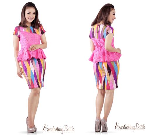 model baju rangrang kombinasi
