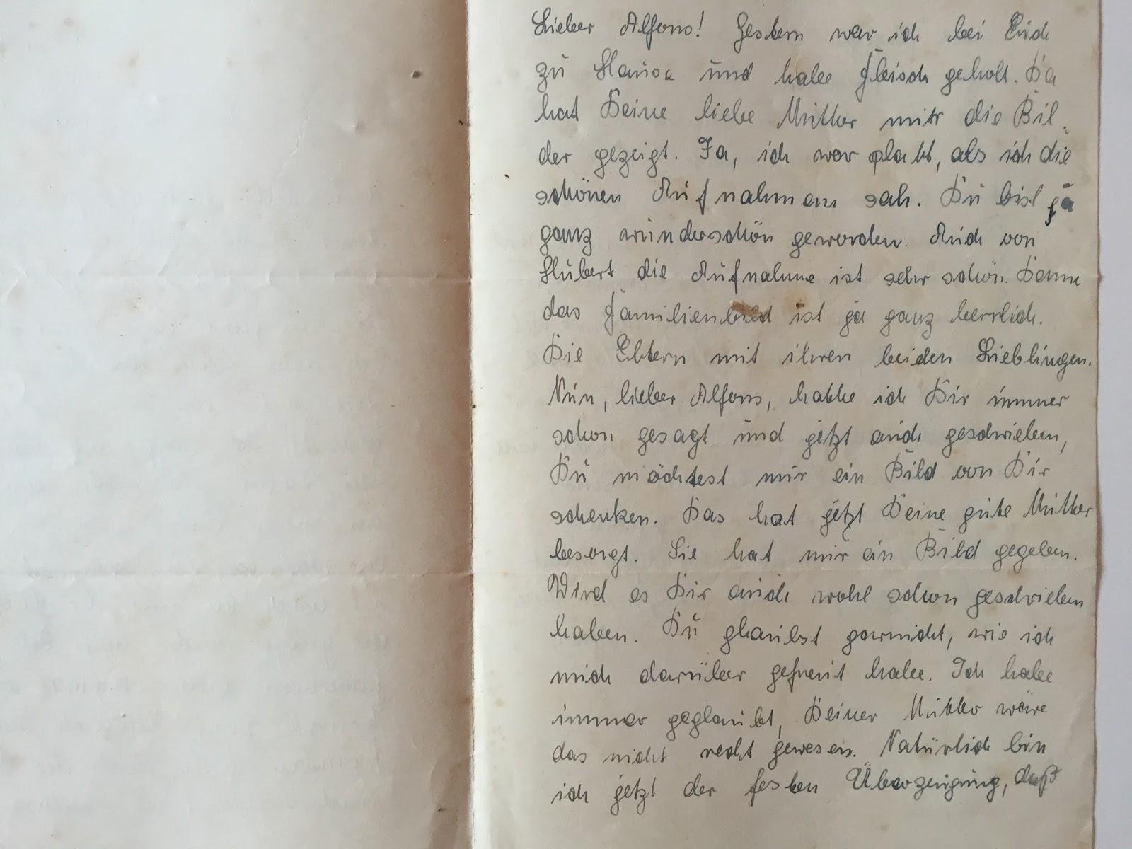 Brief an einen Mann, den du gerade getroffen hast