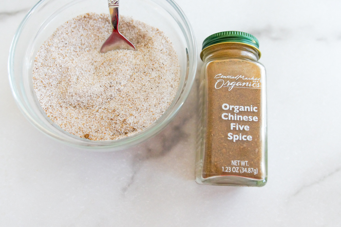 make cinnamon-sugar with Chinese Five Spice instead