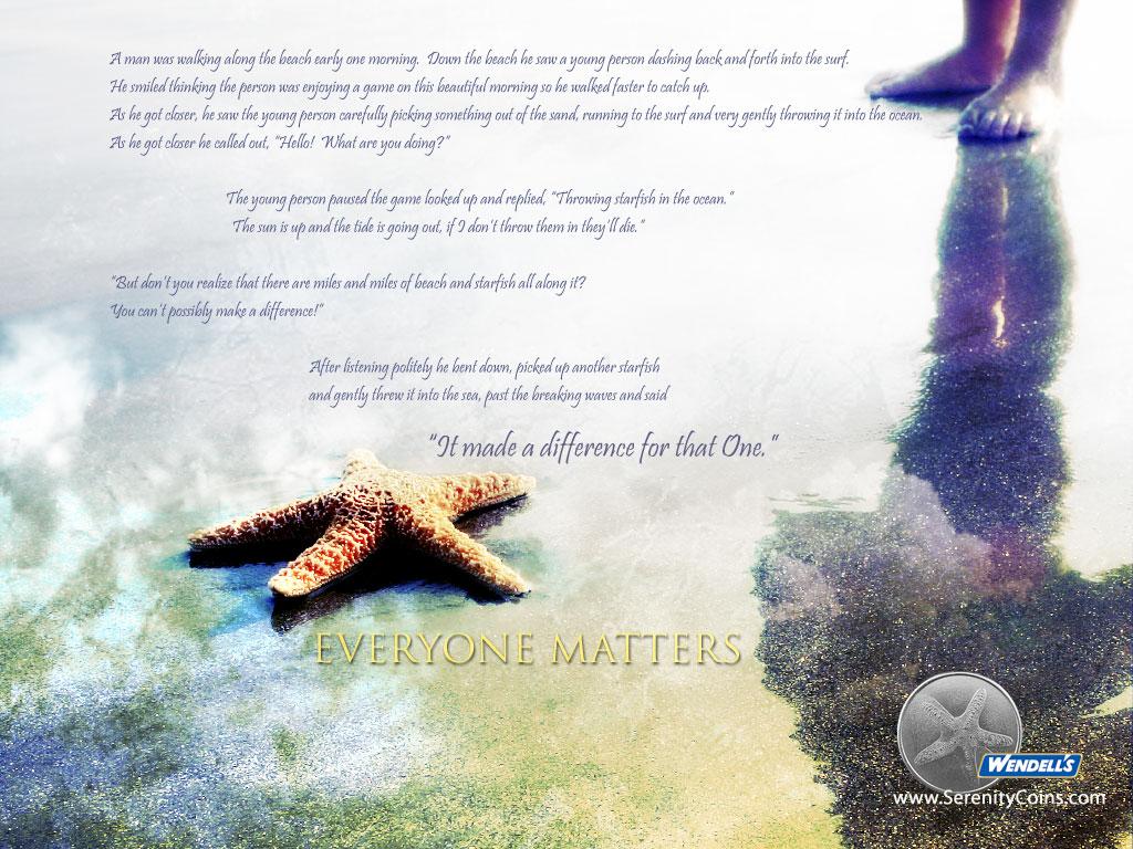 Starfish On Beach Story