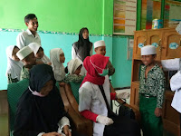 Imunisasi BIAS dT dan Td Oleh Puskesmas Kec. Wonoasih pada Siswa MI Tashilul Mubtadiin