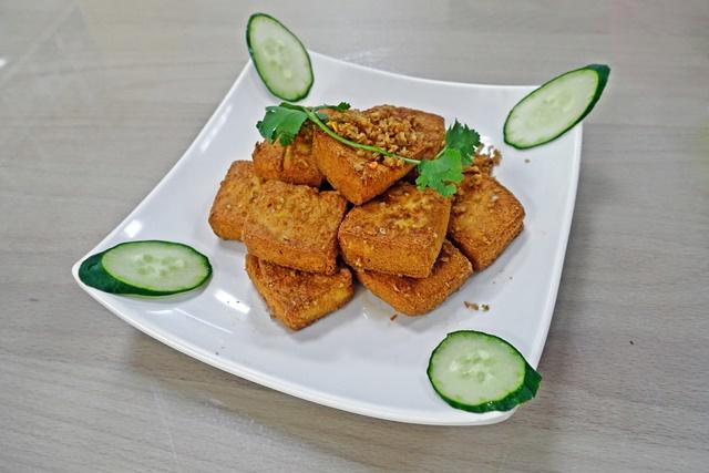 炸香茅豆腐/炸豆腐