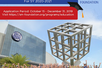 Be an SM Scholar! Apply Now!