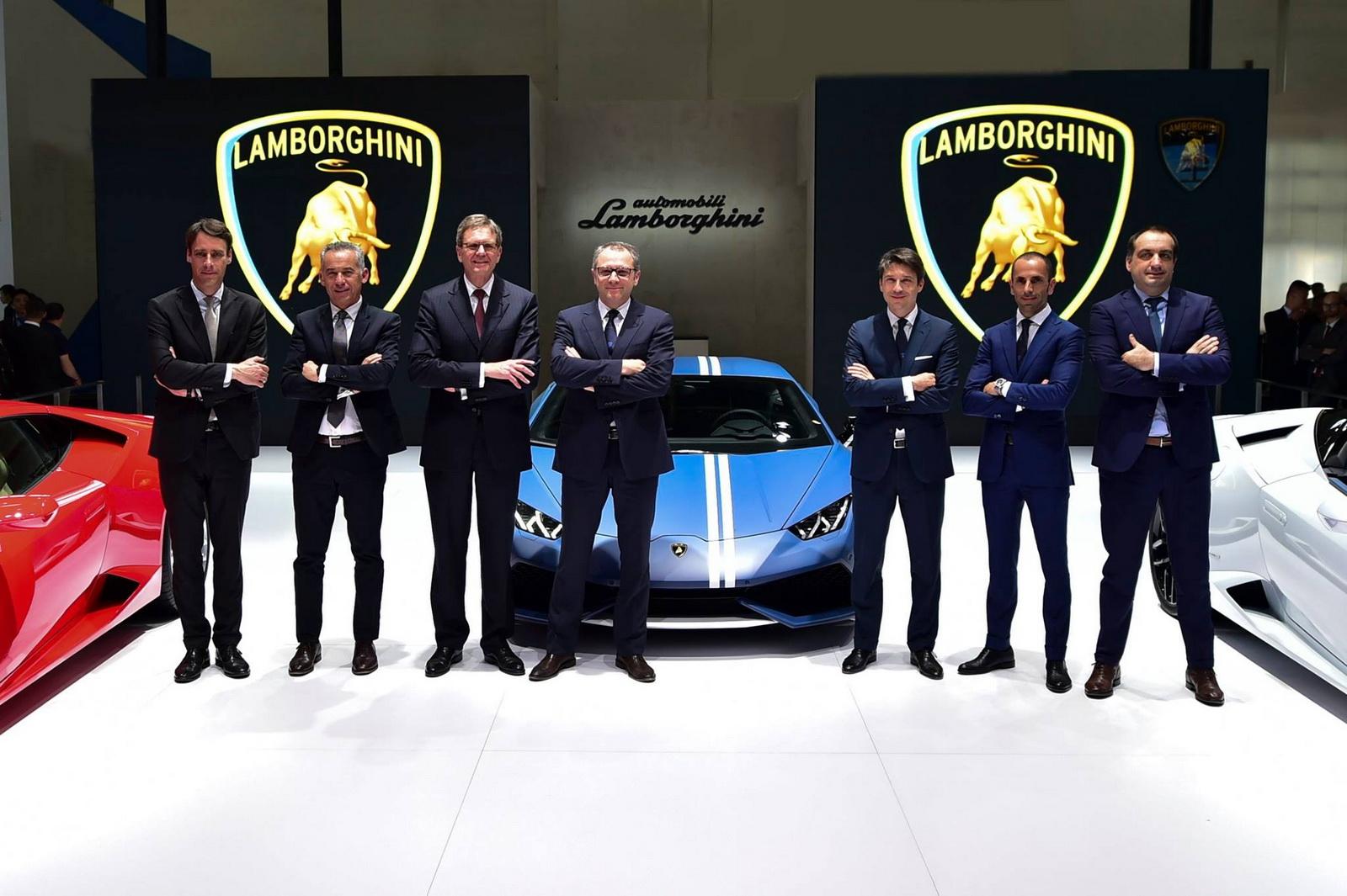 Ba phiên bản Lamborghini Huracan được trưng bày tại Bắc Kinh Auto Show