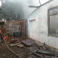 Masak Air Ditinggal Pergi, Sebuah Rumah di Kaligondang Ludes Terbakar