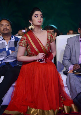 Hot Images of Charmi Kaur in Red
