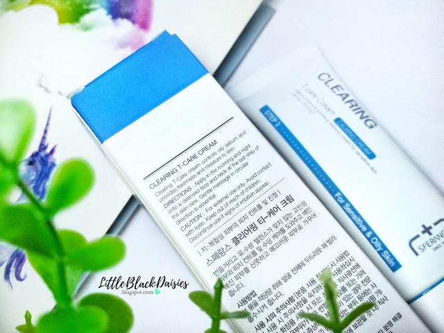 SFERANGS CLEARING T-CARE CREAM REVIEW