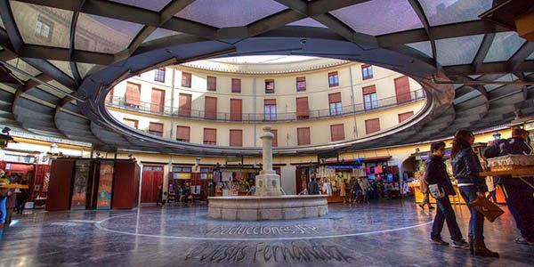 La Plaza redonda Valencia (España)